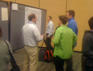 Jon Trullinger presents his research at the National ACS meeting in San Fransico, CA March 2010